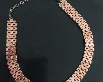 Renoir Copper Necklace