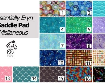 Made To Order English Horse, Pony Dressage Saddle Pad  - Miscellaneous