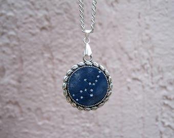 Personalized Birthday gift-for-women Personalized necklace for mom Zodiac jewelry Zodiac necklace Astrology jewelry Constellation necklace