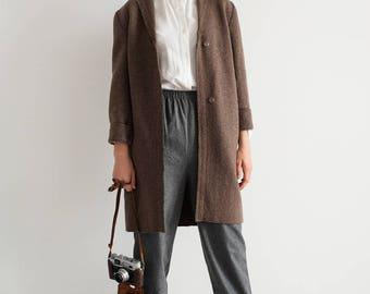 Womens wool coat | Etsy
