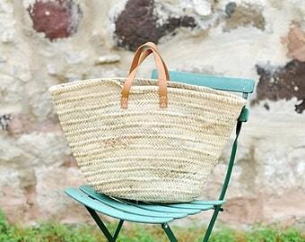 French Market Basket 'Poppy'