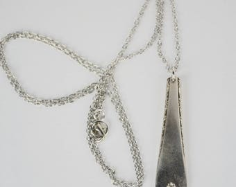 Vintage Spoon Pendant Necklace