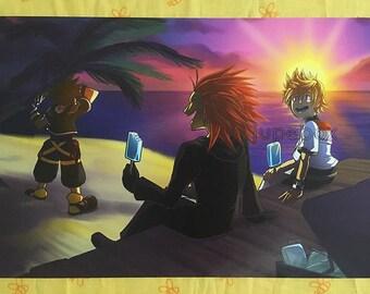Print | The Taste of Sea Salt (Kingdom Hearts)