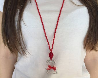 My Sweet Pet Necklace//Valentine's Day