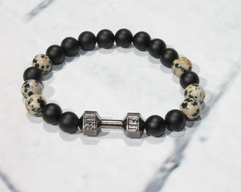 Mens bracelet Bracelet|for|him Stacking bracelets Black bead bracelet Matte bracelet Gift|for|man Energy bracelet Men onyx bracelet Best