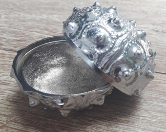 Sea Urchin, Chrome, Jewellery Holder / Ash Tray / Stash Hider
