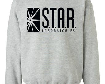 STAR Labs sweatshirt - STAR Labs hoodie - Team Flash - STAR Labs unisex crewneck - star laboratories hoodie - Star Labs shirt - Barry Allen