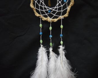 Hemp Boho Dreamcatcher