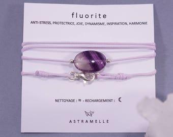 Necklace / Fluorite gluttony Charm Bracelet