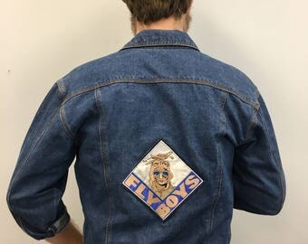 90's Tomorrow's Generation Denim Jacket Flyboys