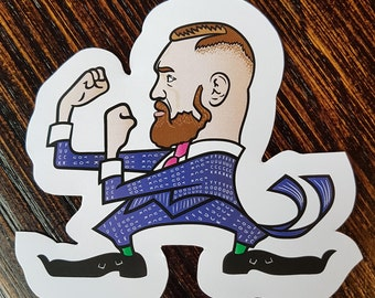 Conor McGregor - 'The F**K YOU Suit' Vinyl Stickers.