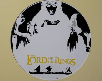 "Cut paper ""Lord of the Rings"""