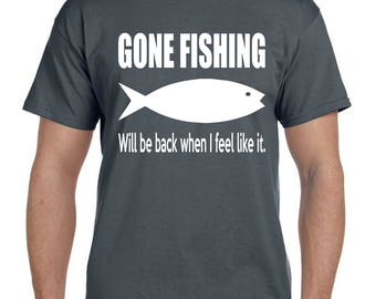 Boyfriend Gift Ideas Husband Gift for Men Boyfriend Gift Fishing Gifts for Husband Mens Gift Grandpa Gift Grandpa Shirt Father Gift  (T 117)