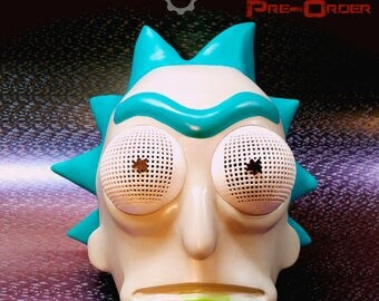 Rick head-helmet from Rick and Morty. Pre-Order.
