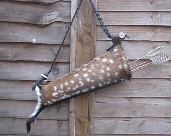 fallow deer skin quiver