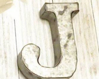 Alphabet Letters, Metal Letters, Letters, Small Metal Letters, Wall Letters, Letters For Wall, Nursery Decor, Rustic Metal Letters