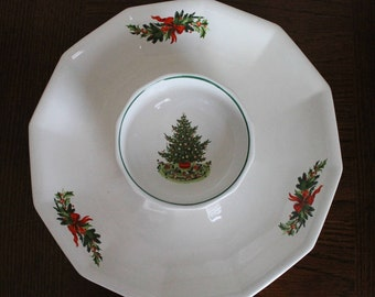 Fitz And Floyd Christmas Plates