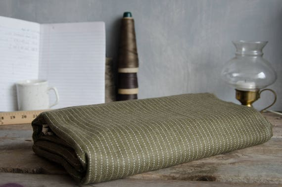 Decorative blanket / Throw. Green