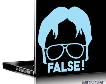 DWIGHT SCHRUTE / FALSE Quote / The Office Inspired Vinyl Decal Sticker