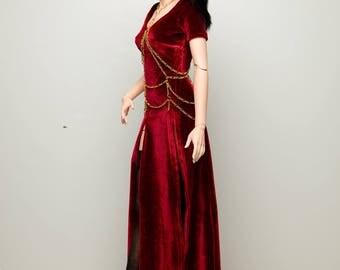 Iplehouse SID : Elegant Red Dress - In Stock