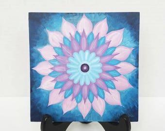 Original Mandala Painting - Mandala Art - Harmony Art - Original Mandala Drawing - Yoga & Meditation Art - Spiritual Painting - Flower Art