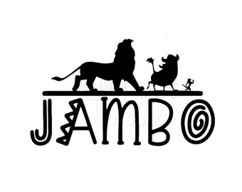 Jambo Animal Kingdom Lion King Disney Decal / Lion King Safari Magic Animal Kingdom Matching  Family Disney Iron On Vinyl for Shirt 345