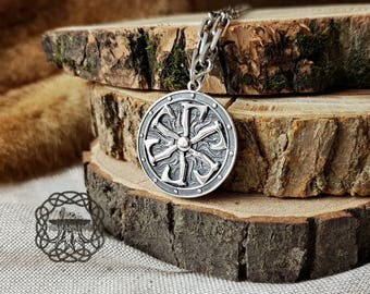 Viking Axe Pendant Sterling Silver Viking Axe Necklace  Norse Pendant Viking Jewelry