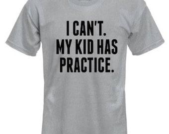 I can't.  My kid has practice Short sleeve T-SHIRT/Unisex T-Shirt/Multiple Colors/Pre-shrunk Cotton