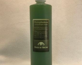 Live Phytoplankton - 16 oz bottle Nannochloropsis