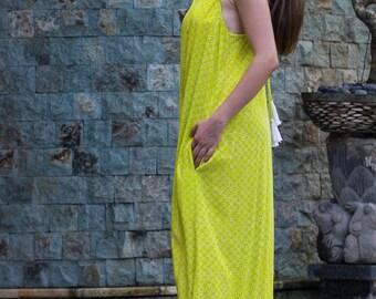 Tara Dress, Summer Dress, Casual Dress, A-Line Dress, Maxi Dress, Asymmetrical Dress, 106-129