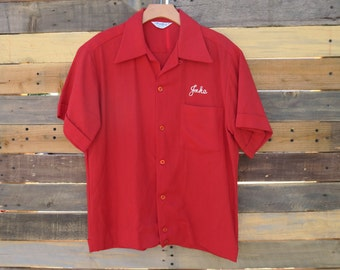 0369 - 50s - Century Shrine Club - Jake's Bowling Shirt