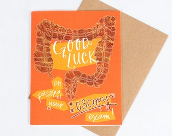 Our #3 Best Selling Greeting Card: Colonoscopy