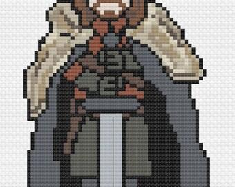 Ned Stark - Game of Thrones Cross Stitch Pattern