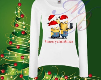 Minion christmas | Etsy