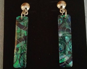 0237-Paua (Oyster Shell) Earrings