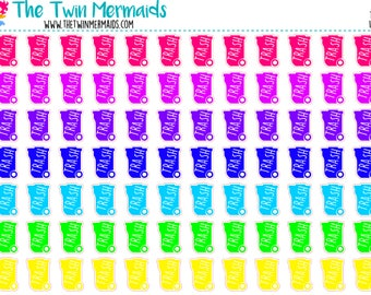 Trash Cans Planner Stickers