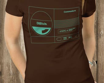 Retro Video Game T-Shirt - Commodore Amiga CD32