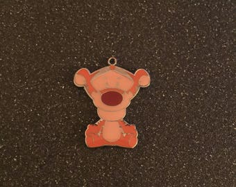 Winnie the Pooh Tigger double sided charm