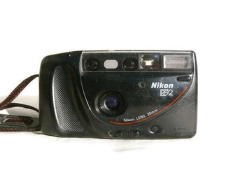 Nikon RF2, Nikon One•Touch 100, Vintage Camera, 35mm Camera, Nikon Camera, 35mm Film Camera, Vintage Nikon, Autofocus Camera