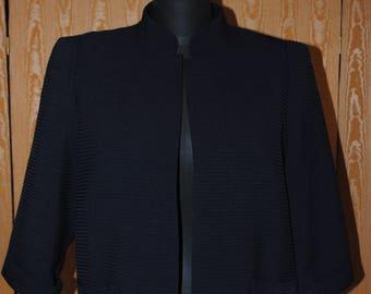 Navy blue jacket vintage-1960 - size: 42