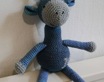 Crochet Personalized Letter Name Amigurumi Giraffe