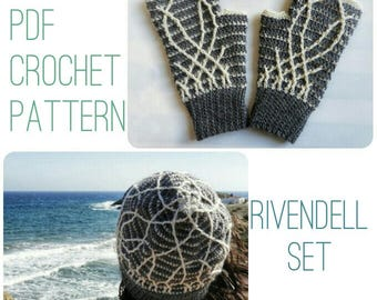 Rivendell Hats and Mittens Set