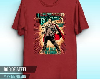 Bob of Steel - Stranger Things Inspired | Stranger Things Shirt | Stranger Things Tee