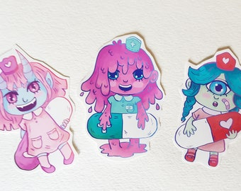 Medical Cuties Stickers