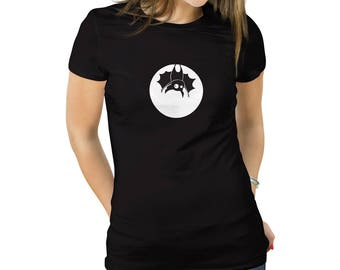 Hanging Bat T-Shirt for Women