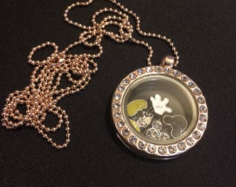 Mickey Mouse Living Locket