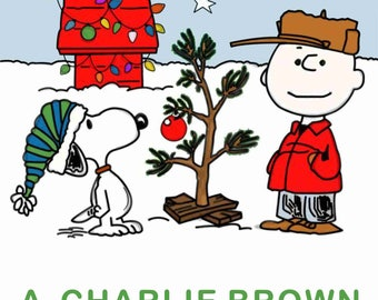 A Charlie Brown Christmas T-Shirt Transfer Instant Download and Print
