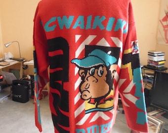 80s waikiki sweater