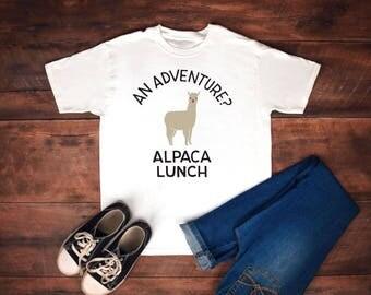 Alpaca shirt - alpaca-llama shirt-adventure shirt-camping shirt-alpaca tshirt-funny alpaca shirt-funny animal shirt-alpaca gift