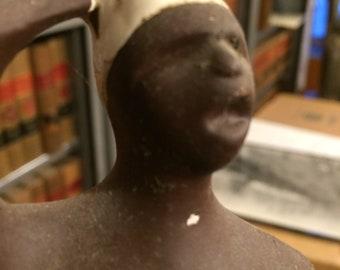 3 blackamoor figurines